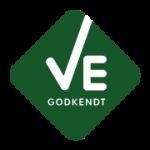 Nærvarme Danmark er VE-godkendt af Energistyrelsen. Endnu en garanti for høj kvalitet i installationen af varmepumpen.