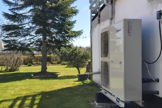 9 kW luft til vand varmepumpe på abonnement en anmeldelse og case