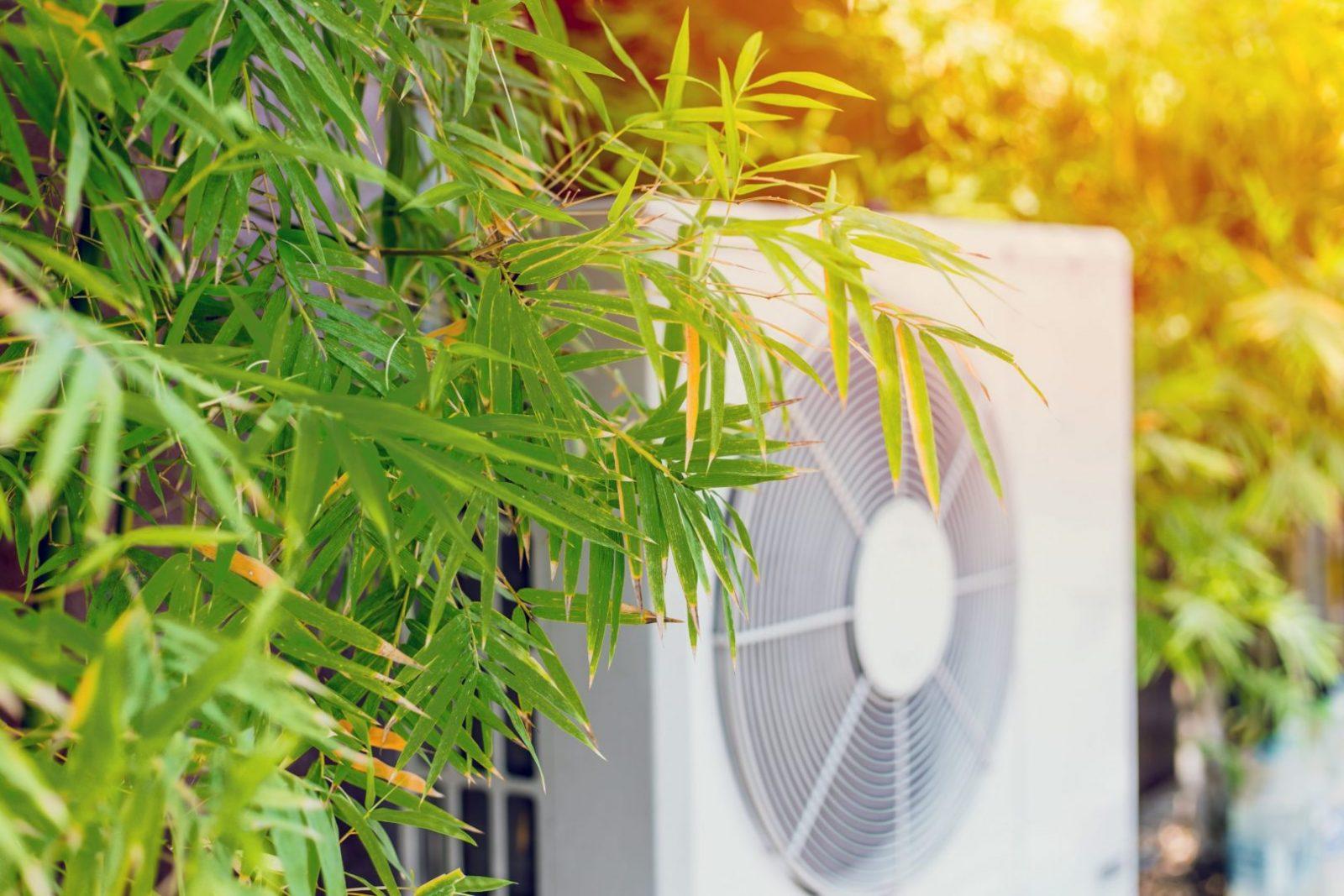 Luft til vand varmepumpe på abonnement til erhvervslivet og boligforeninger.