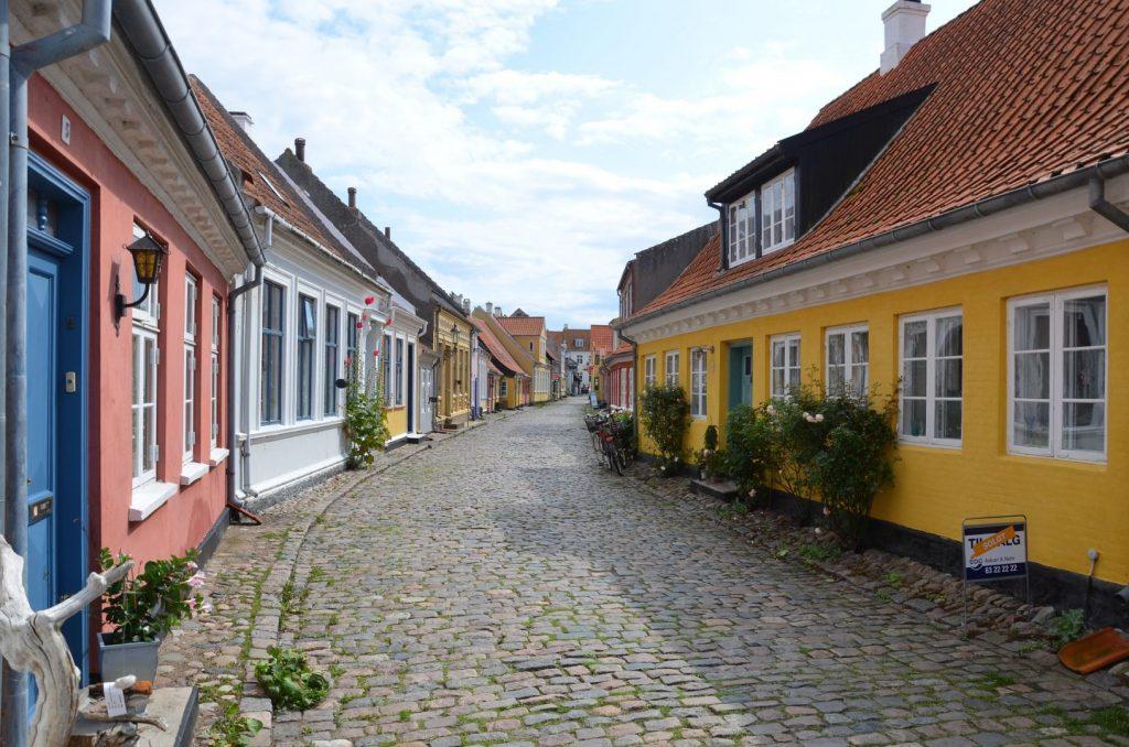 Luft til vand varmepumpe på øerne - Ærø - Bornholm