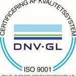 Nærvarme Danmark ISO 9001 certificeret via koncernen SEF A/S.