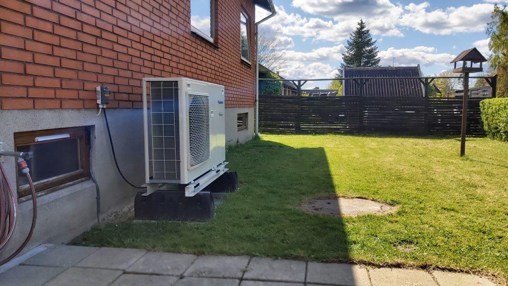 Luft til vand varmepumpe