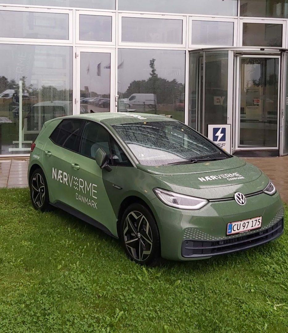 Volkswagen ID.3 er Nærvarme Danmark nye elbil