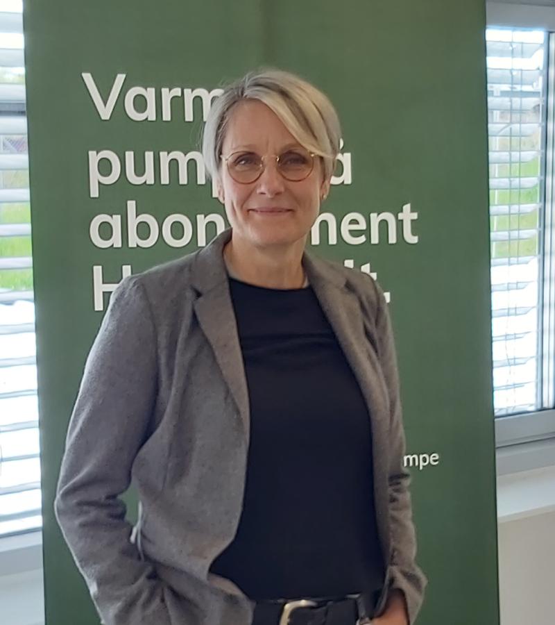 Helle Damm-Henrichsen, Chef for Nærvarme Danmark A/S