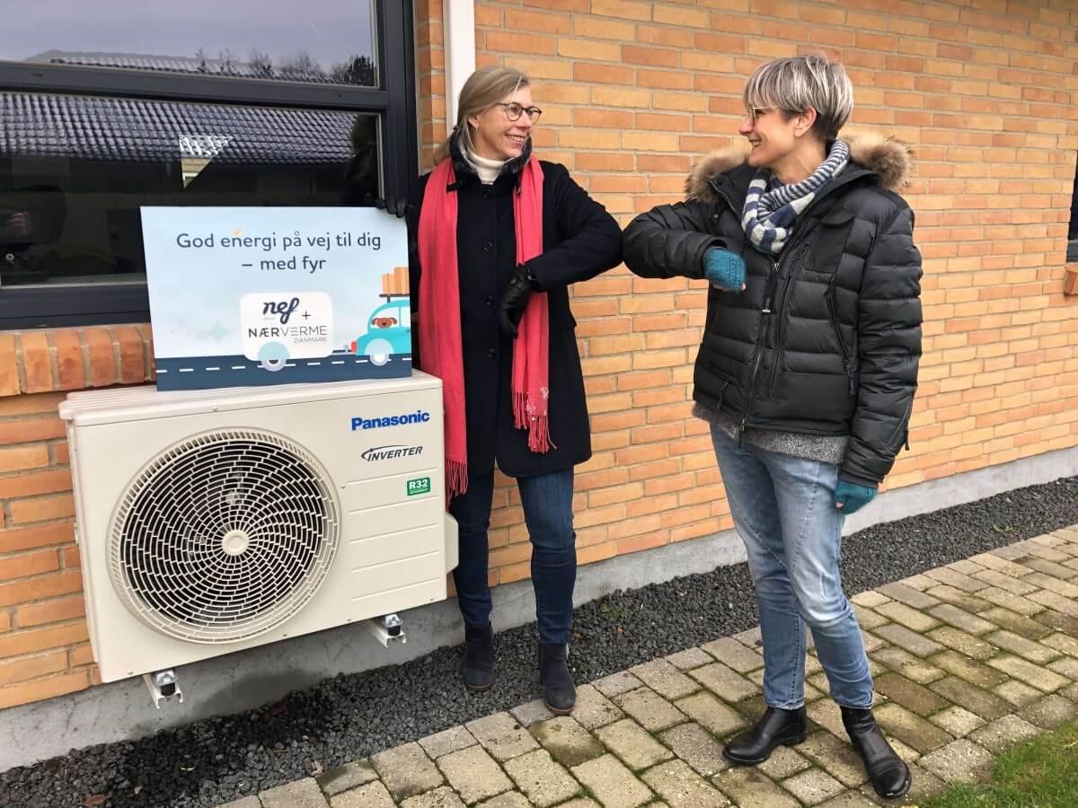 nef og Nærvarme Danmark indgår samarbejde om varmepumper på abonnement