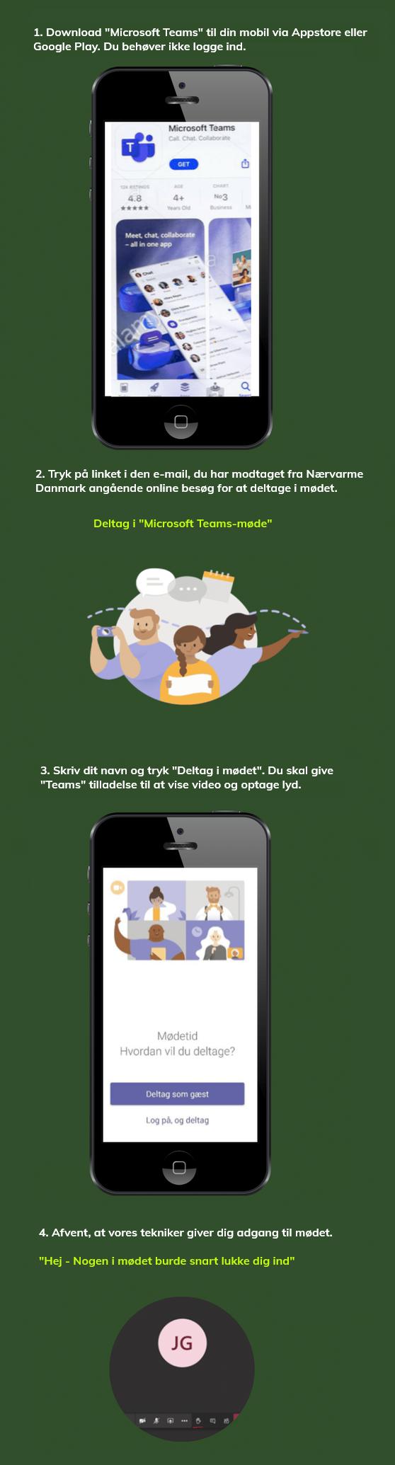 online videomøder - mobil